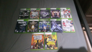 Xbox 360 Games (10$) to (20$ maximum) depends wich game