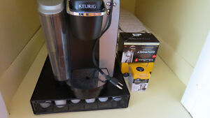 Coffee maker and accessories