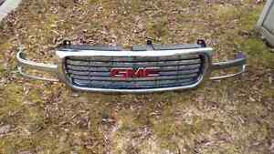Sierra Chrome Grill