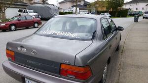 1995 Toyota Corolla Sedan