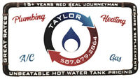 15 year red seal plumber, gas fitter and HVAC.
