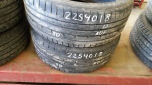 Pair of 2 Goodyear Eagle F1 Asymmetric2 (run-flat) 225/40R18 tir
