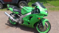 1998 ZX6R $2200 or may trade for pontiac fiero or honda xr,VLX