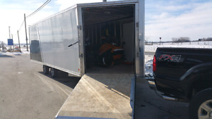 22'X8'5X6'5 High Country Trailers ATV, Snowmobile Inclosed