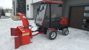 TORO GROUNDSMASTER 455D with 66inch snowblower and HEATED CAB