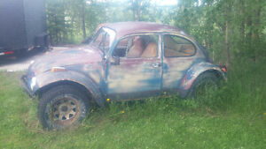 volkswagon beetle nice patina