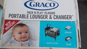 Graco Pack And Play  Portable Lounger & Changer for Sale