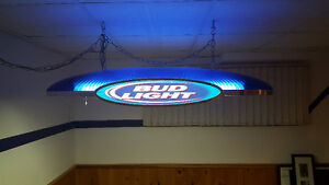 Bud Light Overhead/Ceiling Bar Light