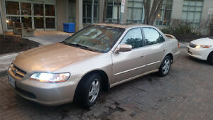 2000 Honda Accord Fully Loaded, Low KM, Excellent Condition,