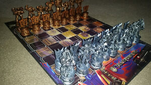 Amazing Transformers chess set in excellent condition with box.. London Ontario image 1