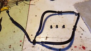 Yamaha R6 Stock Brake Lines with Banjo Bolts