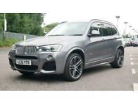 2016 BMW X3 xDrive30d M Sport 5dr Step Auto FourByFour diesel Automatic