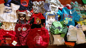 Excellent condition baby boys clothes 0-12 months