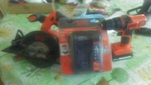 Black&Decker 20Volt MAX Power Tool Set