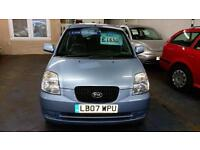 KIA PICANTO 1.1 LS 5 DOOR 1 LADY OWNER SINCE 2010 AIR CON CHEAP INS LOW MILES 07