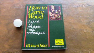 How to Carve Wood, Projects and Techniques Kitchener / Waterloo Kitchener Area image 1