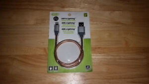 USB to Lightning Charge and Sync Cable