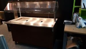 steam table and cold bar