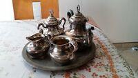 5 piece Silver tea/coffee set