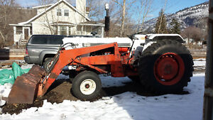 Tractor- case 1410