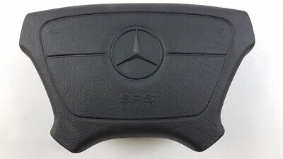 Original MERCEDES-BENZ W140 W463 W210 Lenkrad Airbag schwarz A14046012989045
