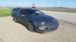 JDM Z32 Fairlady Z 300ZX HICAS Twin Turbo, T Tops, only 90k