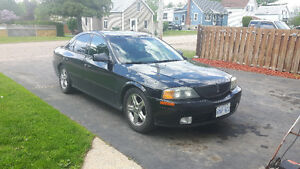 2002 Lincoln LS Black Sedan