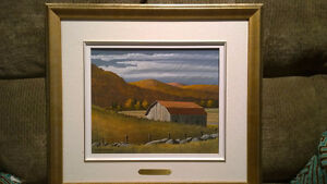 2 Bill Saunders paintings. 10x12,  framed 1981 West Island Greater Montréal image 3