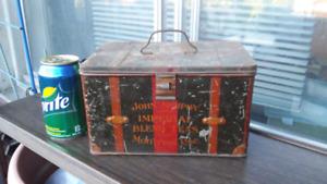 Boîte de Thé en métal John Murphy Antique Tea tin