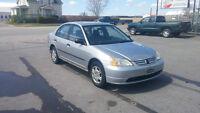 2001 Honda Civic DX-G ECHANGE,FINANCEMENT AUCUN CAS REFUSER