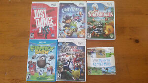 Wii/Wii U Games **for the 2 games that are left**