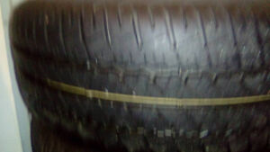 4 Used Summer Tires For Sale on rims Fits 2004 Chevy Epica