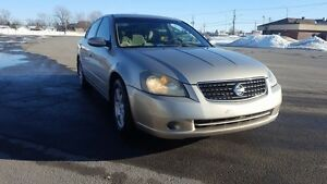 2006 Nissan Altima AUTOMATIQUE 2.5L BAS MILLAGE