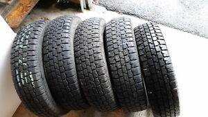 4 pneu hiver 155-80-13 nordik