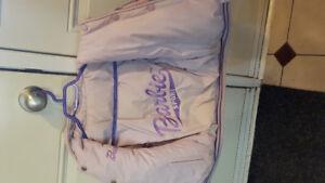 Barbie Reversible LEATHER Bomber Coat!!