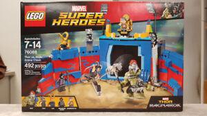 Lego Marvel Thor Vs. Hulk Arena Clash Building Set