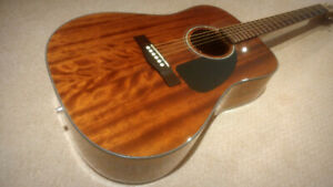 Fender CD60am Acoustic Electric - $245