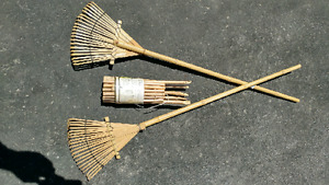 Decorative rakes and fence