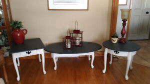 End tables and coffee table ........  crossposted.
