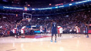 Toronto Raptors Tickets Every Game FIRST ROW Platinum Club