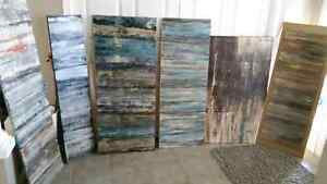 Modern abstract original art painted locally!