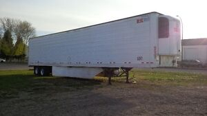 Reefers, step decks and dry vans for rent