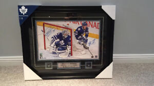Toronto Maple Leafs Signed -24X36 Framed