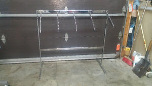 Presentoir rack a vetement
