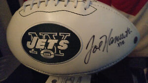 Joe Namath Signed Football London Ontario image 1