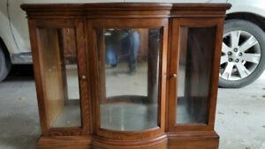 Display Cabinet (Wood)