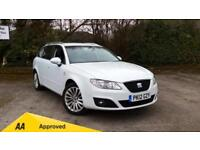 2012 SEAT Exeo 2.0 TDI CR SE Tech 5dr (143) Manual Diesel Estate