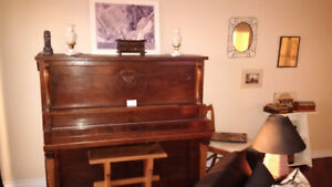 Antique Wood Piano-$200 obo
