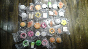 $0.50 a squishy! Small food squishies for loot bags / party bags