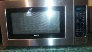 Microwave oven Bosh Stainless Steel in good condition
